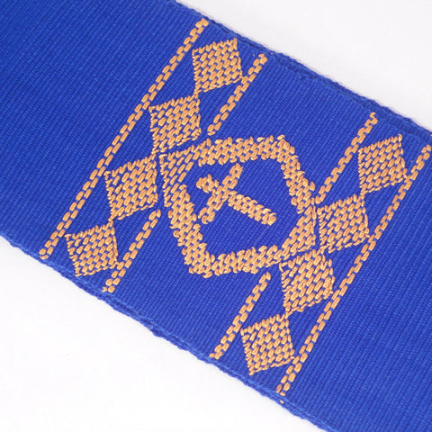 Blue Fair Trade Clergy Stole handwoven
