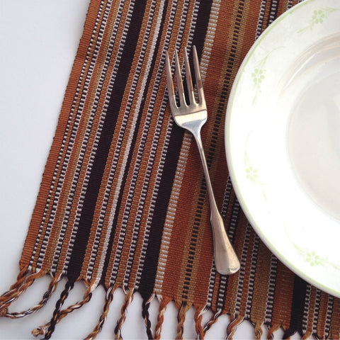 Ethical Shopping Handwoven Napkins / Placemats