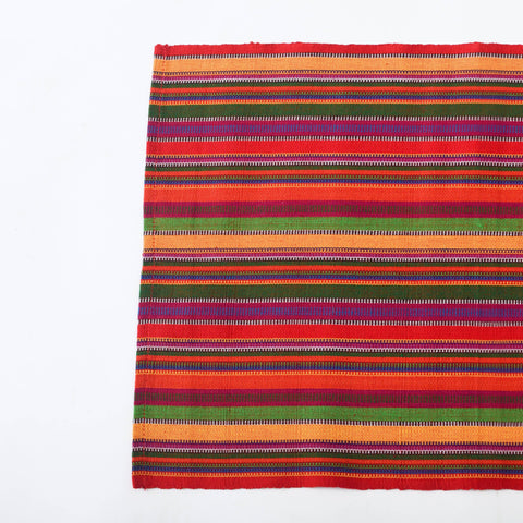 "Multi Color Handwoven Placemats, ""Fiesta Time"" Fair Trade Eco Fashion, Set 4"