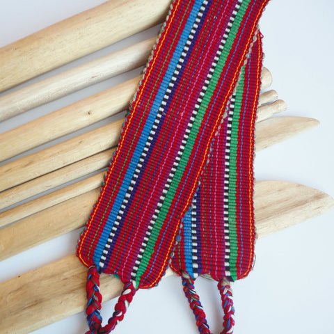 artisan crafted backstrap loom