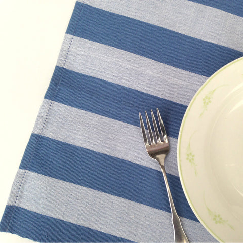 Colorful kitchen table placemats