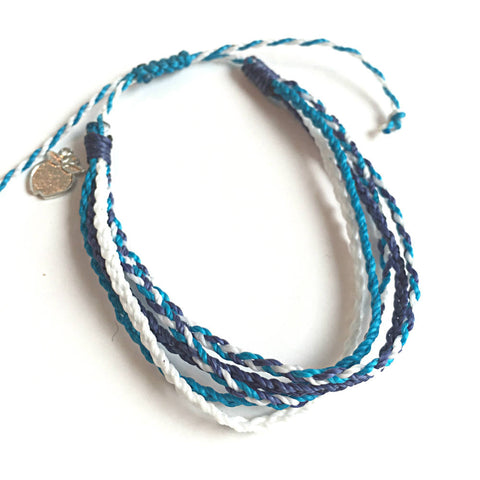 Nautical Blues Fair Trade Friendship Bracelet