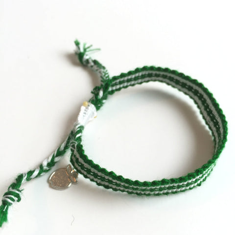 ethically made friendship bracelet
