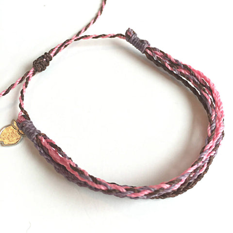Pink Friendship Bracelet, Cause Bracelet