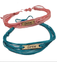 LOVE Bracelet... Bracelet 2 Education  Bracelet for Change Fair Trade