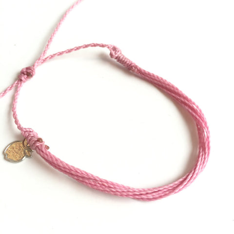 "Friendship Cause Bracelet, Soft Pink ""Tootsie Toes"""