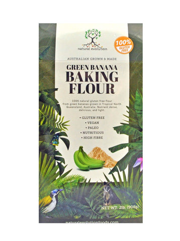 Natural Evolution Gluten Free  Green Banana Flour.