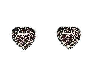 Sparkle heart stud - Fifth Corner & BlueBird