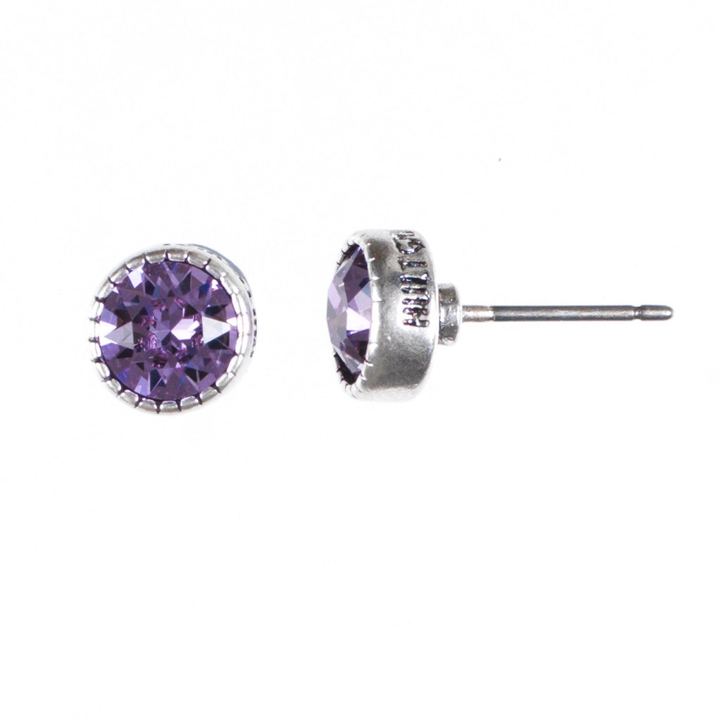 Sparkle studs, lilac - Fifth Corner & BlueBird