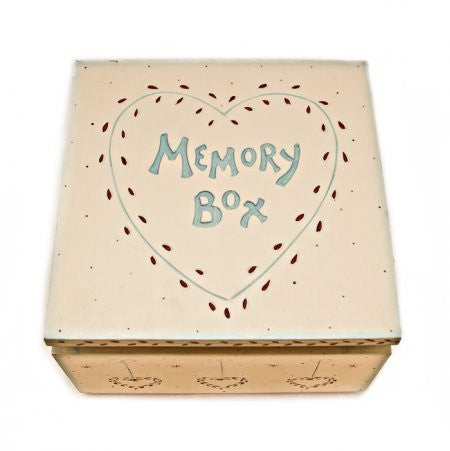 Memory Box - Keepsake Box - Fifth Corner & BlueBird - 1