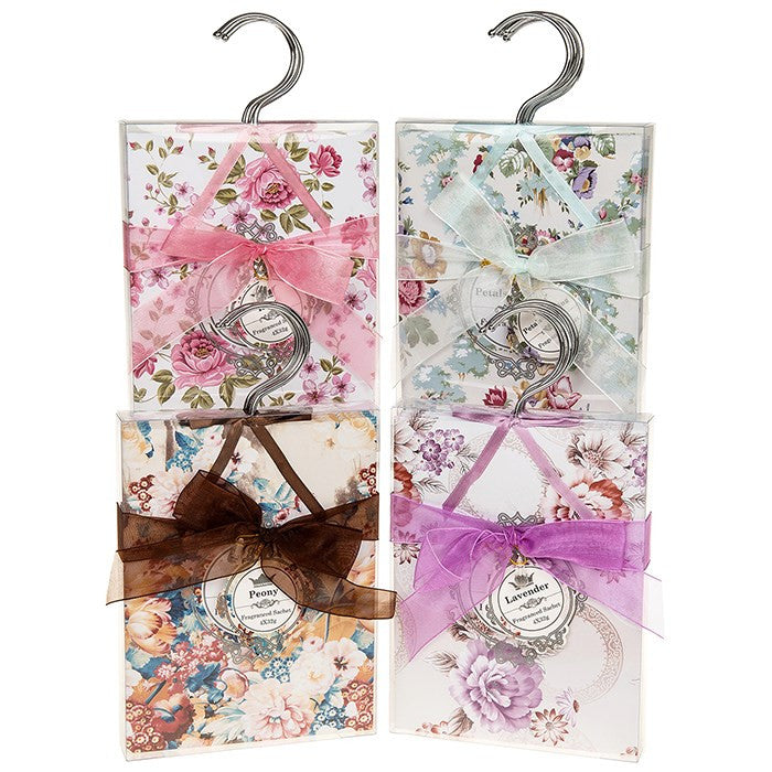 Fragrant Petal Hanging Sachet - Pack of 4 - Fifth Corner & BlueBird