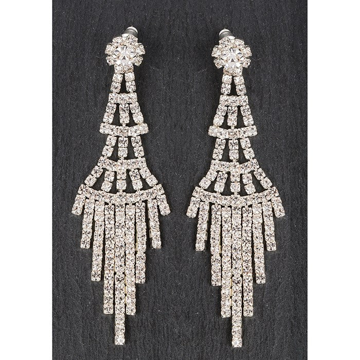 Tiered Chandelier Earrings - Fifth Corner & BlueBird