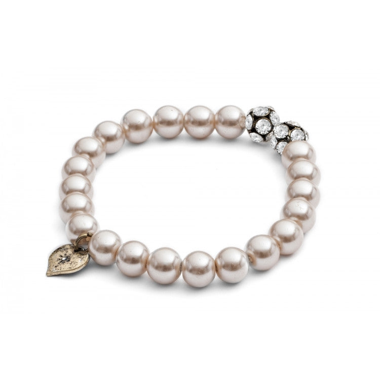 Pearl and Chaton Bracelet - Fifth Corner & BlueBird - 1