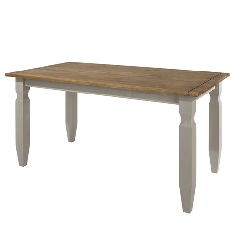 Dining Table Grey Washed Pine