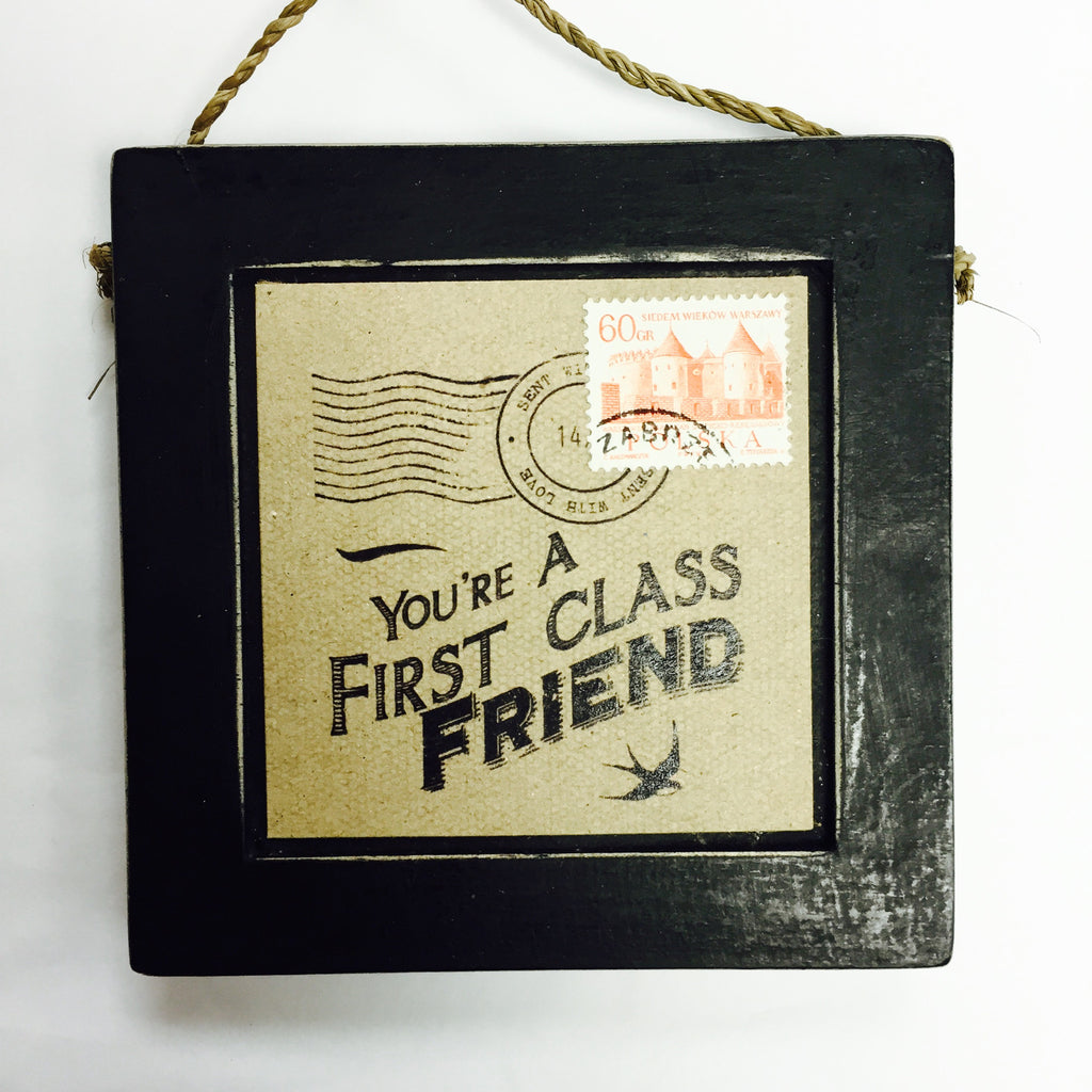 You're A First Class Friend - Fifth Corner & BlueBird