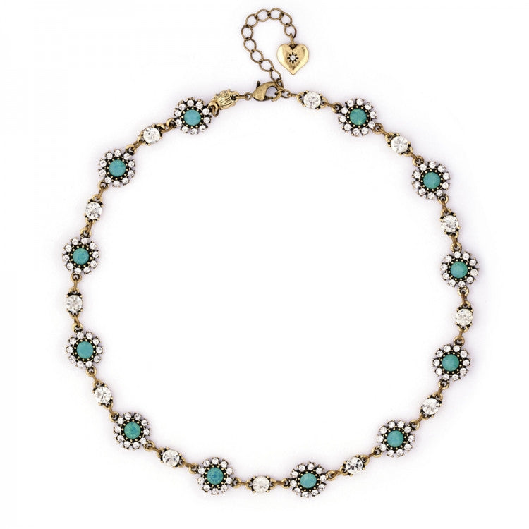 Grace Necklace Pacific Opal - Fifth Corner & BlueBird