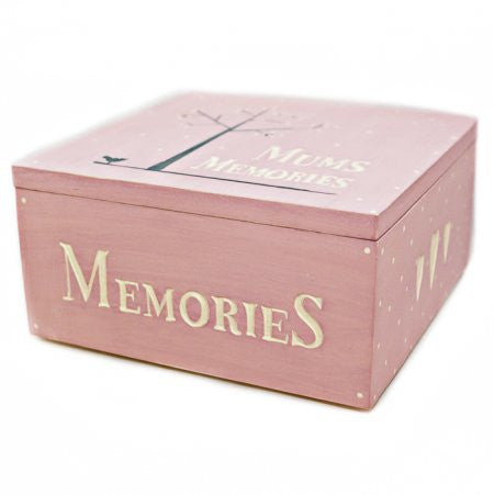 Mum's Memories Keepsake Box