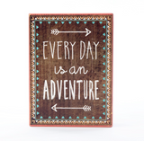 Everyday Is An Adventure Tribal Box Frame Plaque - Fifth Corner & BlueBird - 2