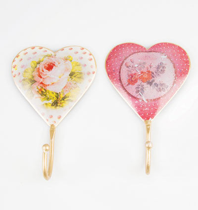 Cordelia Vintage Heart Hook Assorted