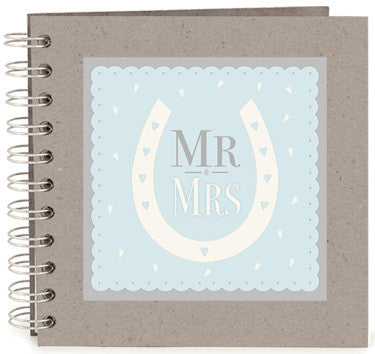 Mr & Mrs - Horse Shoe Design Book - Fifth Corner & BlueBird