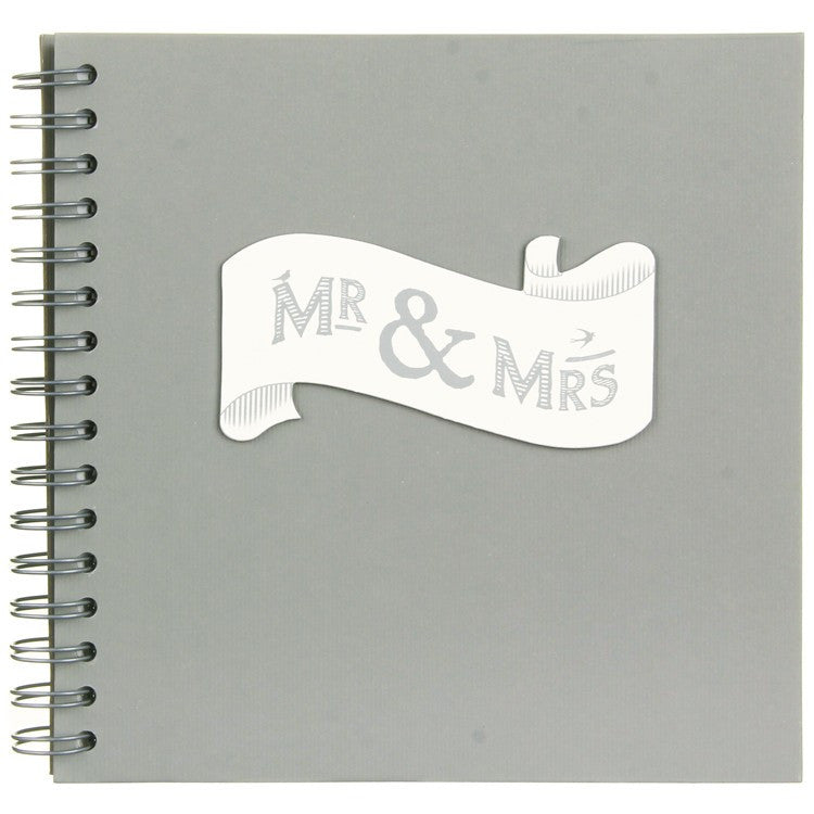 Mr & Mrs - Ribbon Style Book - Fifth Corner & BlueBird