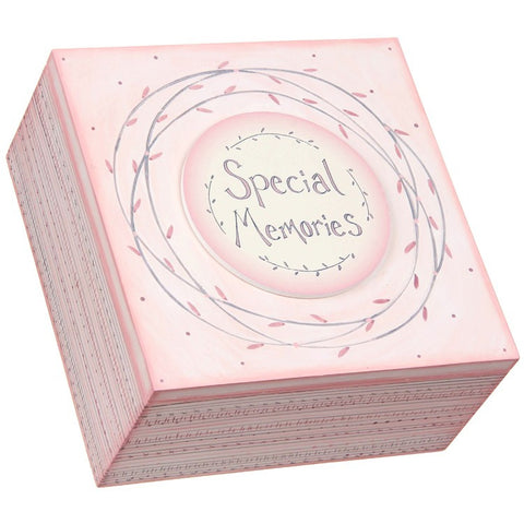"Striped Box (pink) ""Special Memories"""