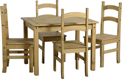 Rustic Budget Mexican Dining Set - Furniture - Fifth Corner & BlueBird - 1
