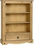 Rustic 1 Drawer Bookcase - Furniture - Fifth Corner & BlueBird - 1