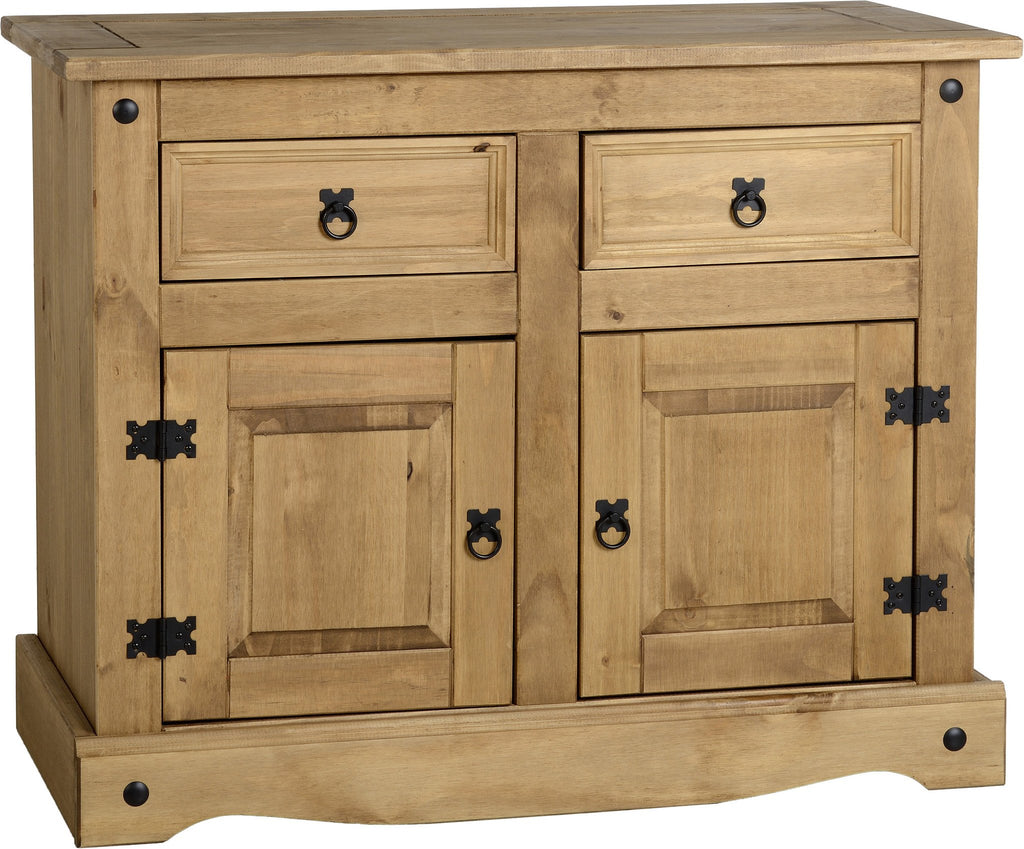 Rustic 2 Door 2 Drawer Sideboard - Furniture - Fifth Corner & BlueBird