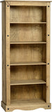 Rustic Tall Bookcase - Furniture - Fifth Corner & BlueBird - 1