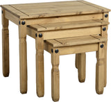 Rustic Nest Of Tables - Furniture - Fifth Corner & BlueBird - 1