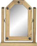 Rustic Single Swivel Mirror - Furniture - Fifth Corner & BlueBird - 1