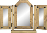 Rustic Triple Swivel Mirror - Furniture - Fifth Corner & BlueBird - 1