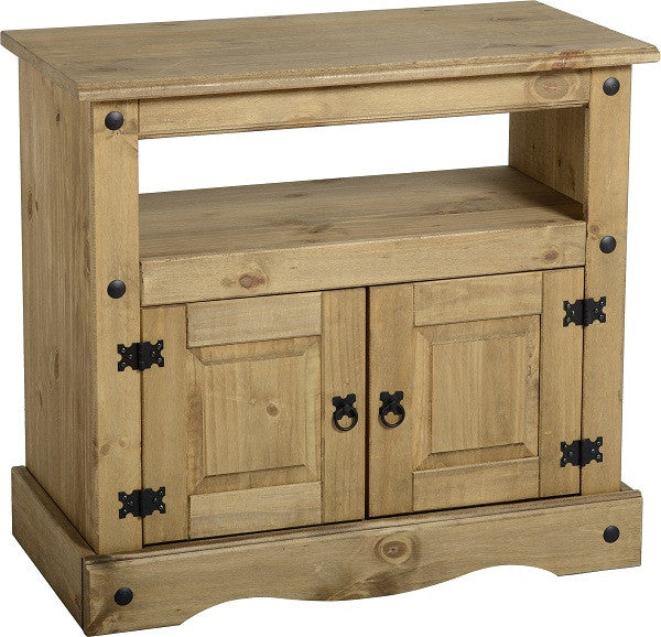 Rustic TV Cabinet - Furniture - Fifth Corner & BlueBird - 1