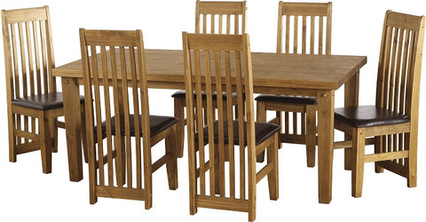 Tortilla 6' Dining Set - Furniture