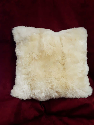 "Alpaca 100% Fiber Pillow - 15"" x 15"""