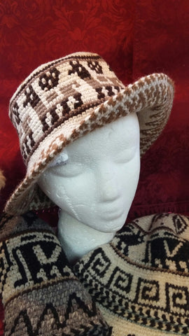 Alpaca Roll Up Hat