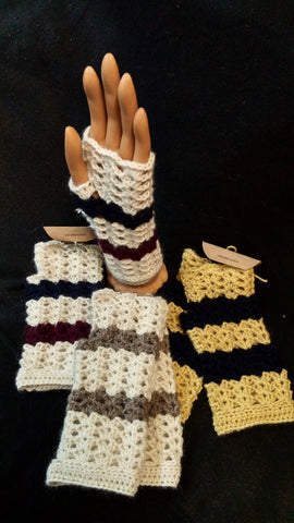 Alpaca Hand Warmers/Fingerless Gloves