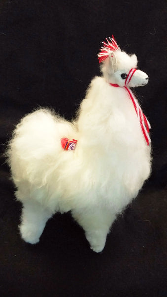 Llama Toy With Alpaca Fur 6 5 Inches The Smiling Llama