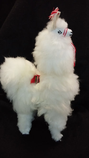 Llama Toy With Alpaca Fur 12 Inches The Smiling Llama