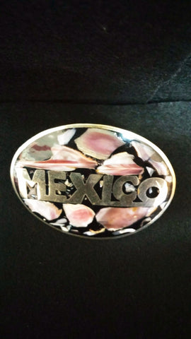 Mexico Belt Buckle