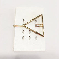 Geometric modern linear TRIANGLE hair clip hair pin