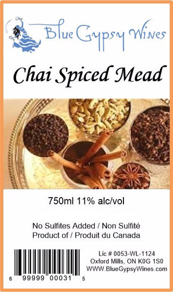 B - Chai Spiced Mead (Honey Wine)