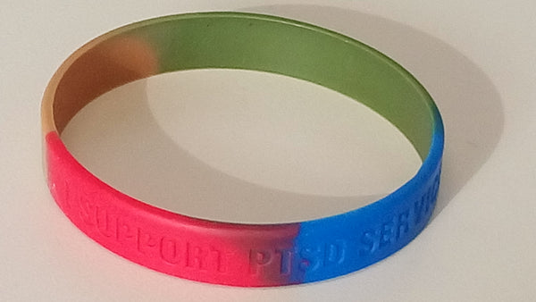 PTSD Service Dog fundraising wristbands