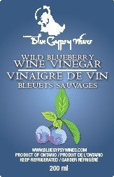C - Wild Blueberry Wine Vinegar