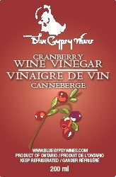 C - Cranberry Wine Vinegar
