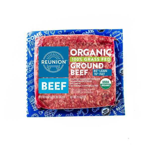 Organic Grass Fed Beef Ground