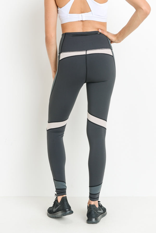 Dragonfly Colorblock Full Leggings