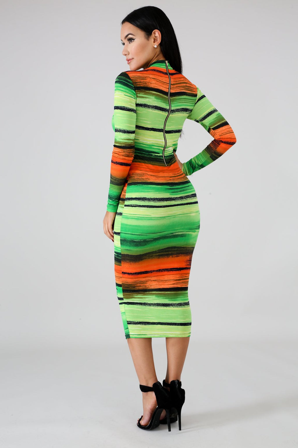 'Mesmerized' Midi Dress