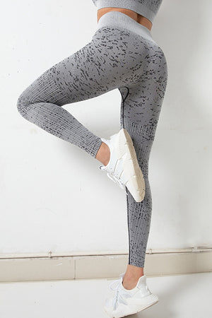 Seamless Camo High Wasited Legging